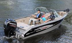 Can't decide what you love more, fishing or water skiing? You no longer have to choose between them. Whatever your favorite activity of the moment, the aluminum boats of our Sport Series are sure to deliver maximum satisfaction!Price includes the boat,