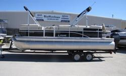 Brand New 2014 Lowe SS230XD. Options include Mercury O/B 115HP, ELPT, EFI, 4S, pop up privacy, custom reclining helm seat, deck flush mount pedestal bases, two fold down seats, X4 pro depth finder, under seat livewell, full cover, full camper enclosure,