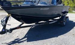 New 2015 Xtreme 16  OVER $2000 IN ACCESSORIES  Boat has lifetime hull Warranty !!  Platinum 5 Year Warranty Covers the whole Boat !!  New 2013 Mercury 75 HP Engine with  3 Year Warranty !!  WARRANTIES ARE TRANSFERABLE! !  Motorguide W45 Trolling Motor