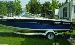 Nice boat to take the family out on the lake (seats 6 comfortably) - 1989 16ft' fiberglass Tempest with OMC inboard/outboard OMC Cobra motor. Motor was rebuild 2008, has low hours and runs great, Boat is clean and is well taken care of each year this boat