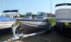 Yamaha G3 Boats model v172fs with 4-stroke 115hp motor + trailer