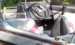 16 foot Vanguard Beretta large in floor fuel tank 115 Evinrude oil injected outboard motor $7500